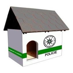 Zateplená psí bouda - Policie