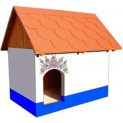 Zateplená psí bouda - Sklépek