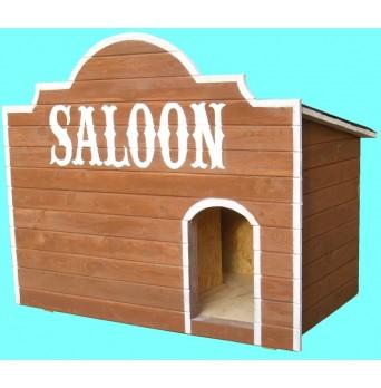 Zateplená psí bouda - Saloon